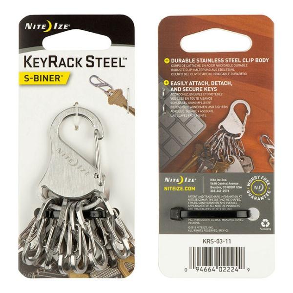 Купить Брелок для ключей Nite Ize Key Rack с карабинами