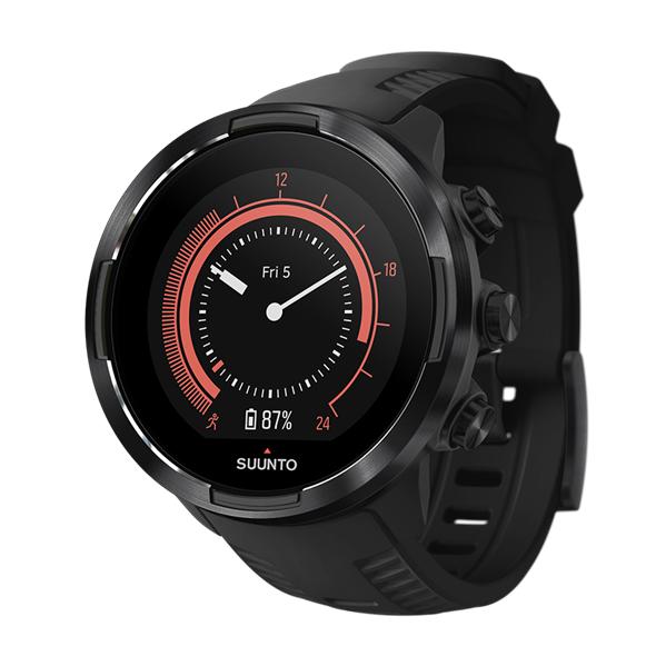 Часы Suunto Suunto 9 Baro Black черный домкрат гидравлический бутылочный mirax 20т 43260 20