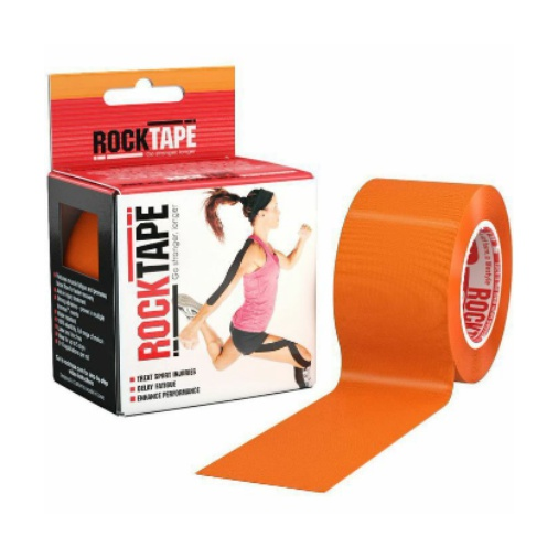 Кинезиотейп Rock Tape Rock Tape Classic оранжевый 5смх5м