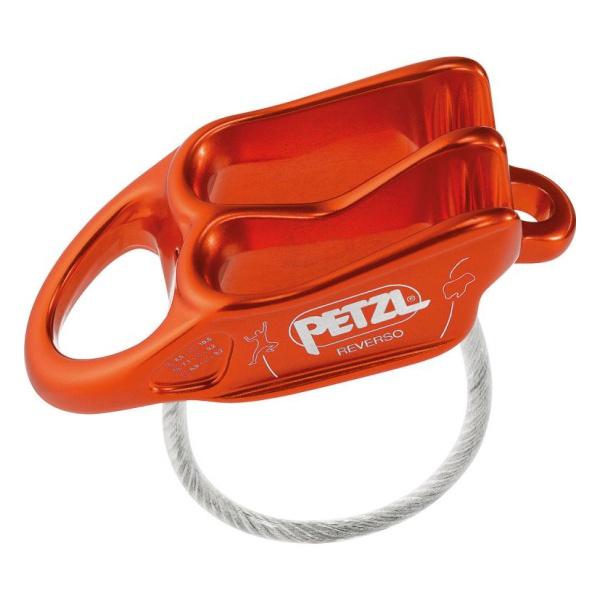 Страховочно-спусковое устройство Petzl Petzl Reverso красный спусковое устройство petzl huit