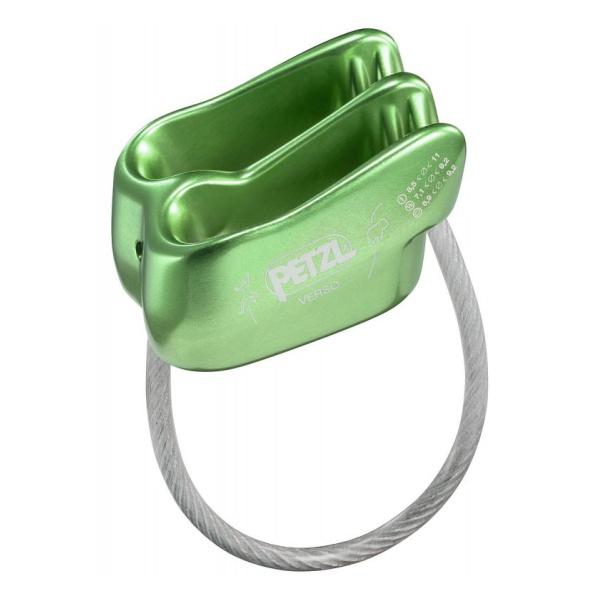 Страховочно-спусковое устройство Petzl Petzl Verso зеленый спусковое устройство petzl huit