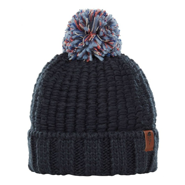 Шапка The North Face The North Face Cozy Chunky Beanie темно-синий ONE шапка the north face the north face youth ski tuke разноцветный m
