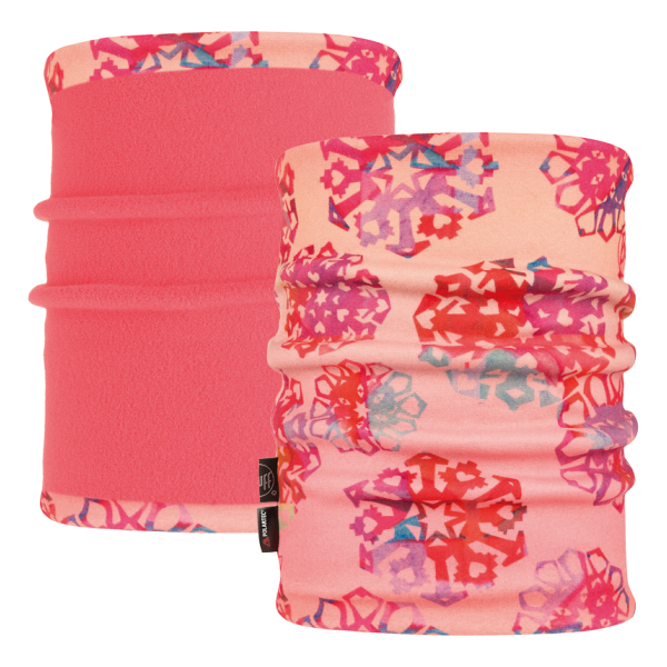 Купить Бандана Buff Reversible Polar Neckwarmer Origami Flock Flamingo Pink детская