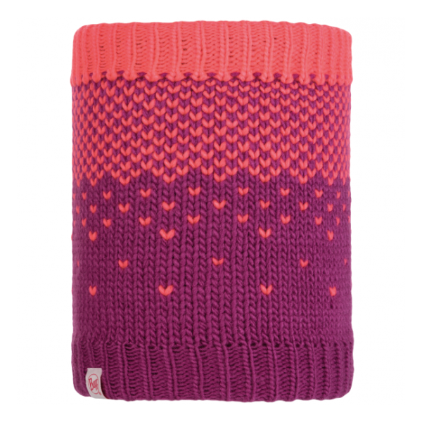 Шарф BUFF Buff Child Knitted & Polar Neckwarmer Hilda фиолетовый ONESIZE