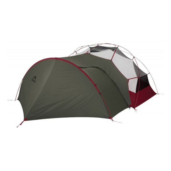 Тамбур MSR MSR Gearshed для палатки Elixir, Hubba NX зеленый