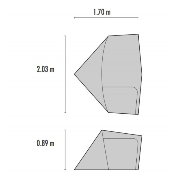 Купить Тамбур MSR Gearshed для палатки Elixir, Hubba NX