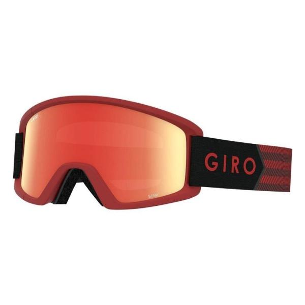 Горнолыжная маска Giro Giro Semi темно-красный ADULT горнолыжная маска giro giro gaze женская темно серый medium