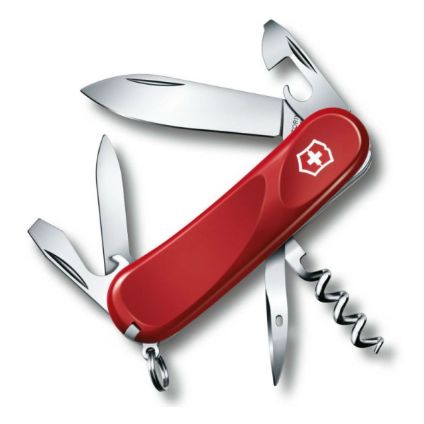 Нож перочинный Victorinox Victorinox Evolution 10 красный 85мм
