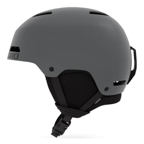 Горнолыжный шлем Giro Giro Ledge серый S(52/55.5CM) горнолыжный шлем giro giro ledge красный m 55 5 59cm