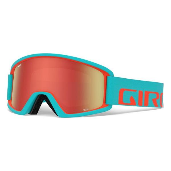 Горнолыжная маска Giro Giro Semi голубой ADULT anon маска сноубордическая anon helix 2 0 non mir yellow amber fw18 one size