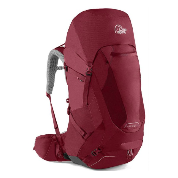 Рюкзак Lowe Alpine Manaslu ND60:75 красный 60л