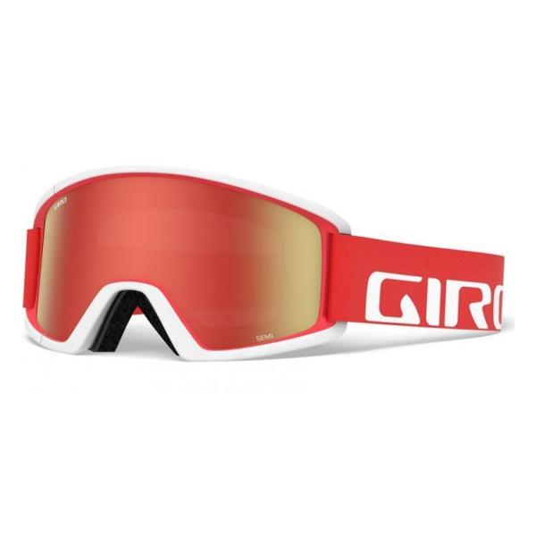 Горнолыжная маска Giro Giro Semi красный ADULT anon маска сноубордическая anon helix 2 0 non mir yellow amber fw18 one size
