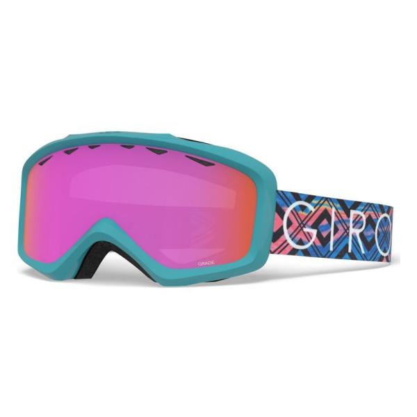 Горнолыжная маска Giro Giro Grade юниорская голубой YOUTH горнолыжная маска giro giro chico темно голубой small