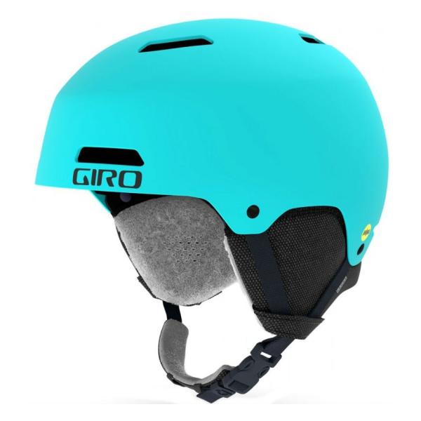 Горнолыжный шлем Giro Giro Ledge голубой M(55.5/59CM) горнолыжный шлем giro nine jr юниорский зеленый m 55 5 59cm