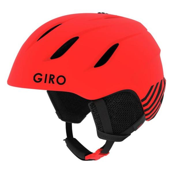 Горнолыжный шлем Giro Giro Nine JR юниорский красный M(55.5/59CM) горнолыжный шлем giro nine jr юниорский зеленый m 55 5 59cm