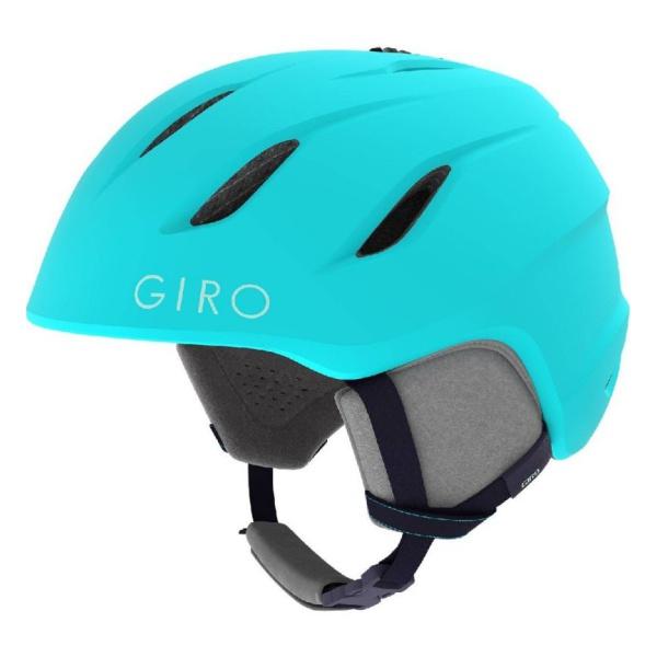 Горнолыжный шлем Giro Giro Nine JR юниорский голубой M(55.5/59CM) горнолыжный шлем giro nine jr юниорский зеленый m 55 5 59cm
