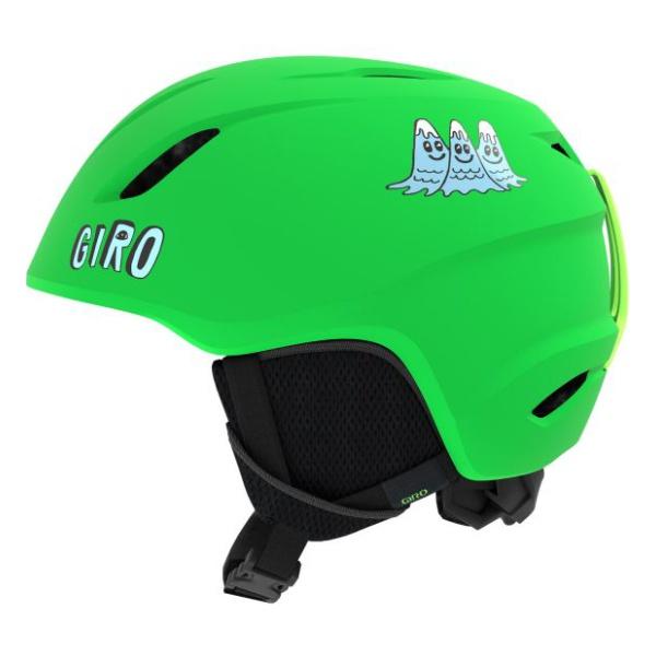 Горнолыжный Giro шлем Giro Launch детский зеленый S(52/55.5CM) шлем детский rexco 3d цыпленок янни s 48 52 желтый