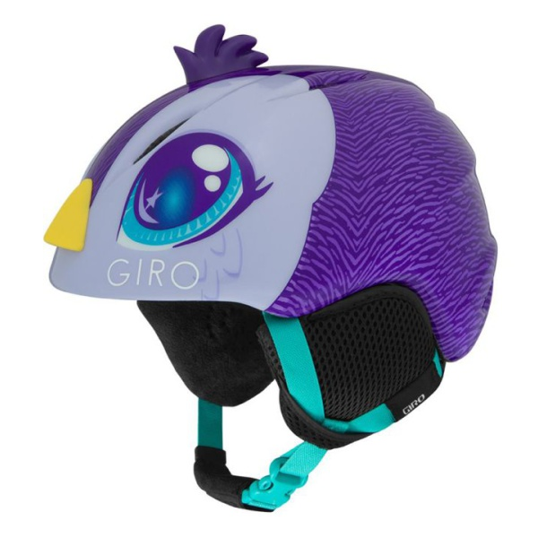 Горнолыжный Giro шлем Giro Launch Plus детский фиолетовый S(52/55.5CM) шлем детский rexco 3d цыпленок янни s 48 52 желтый