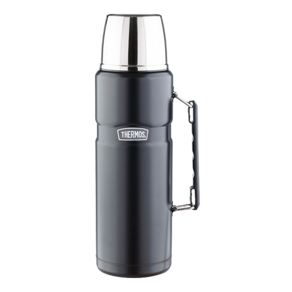 Термос Thermos Thermos SK2010BK King черный 1.2л сумка термос thermos e5 24 can cooler 555618 19л лайм