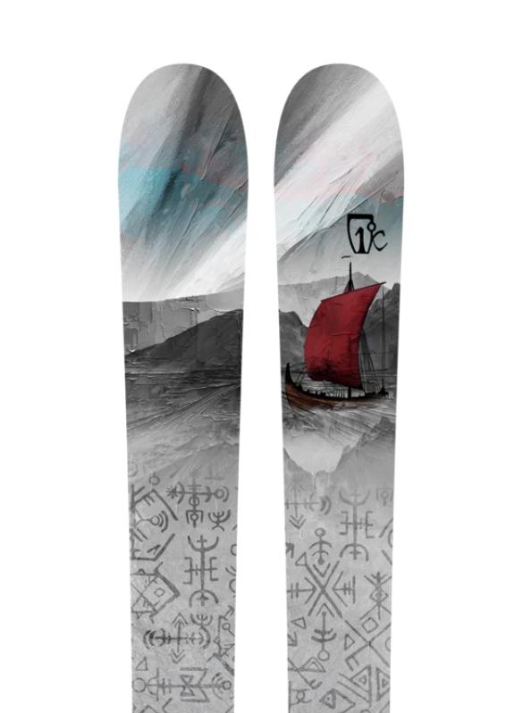 Купить Горные лыжи Icelantic Nomad Lite 105 186