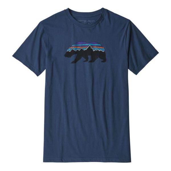 Футболка Patagonia Patagonia Fitz Roy Bear Organic T-Shirt цены онлайн