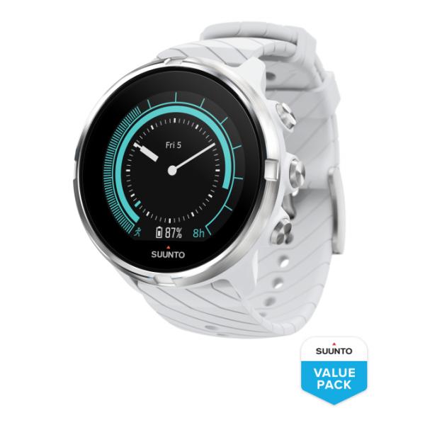Часы Suunto Suunto 9 G1 White белый спортивные часы suunto 9 white