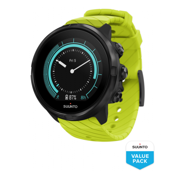 Купить Часы Suunto 9 G1 Lime