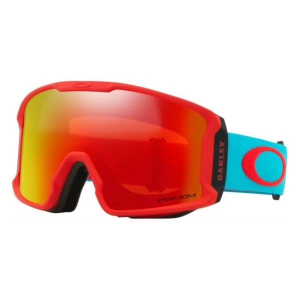 Горнолыжная маска Oakley Oakley Line Miner XM красный oakley airbrake mx herlings signature series goggles orange frame fire iridium lens