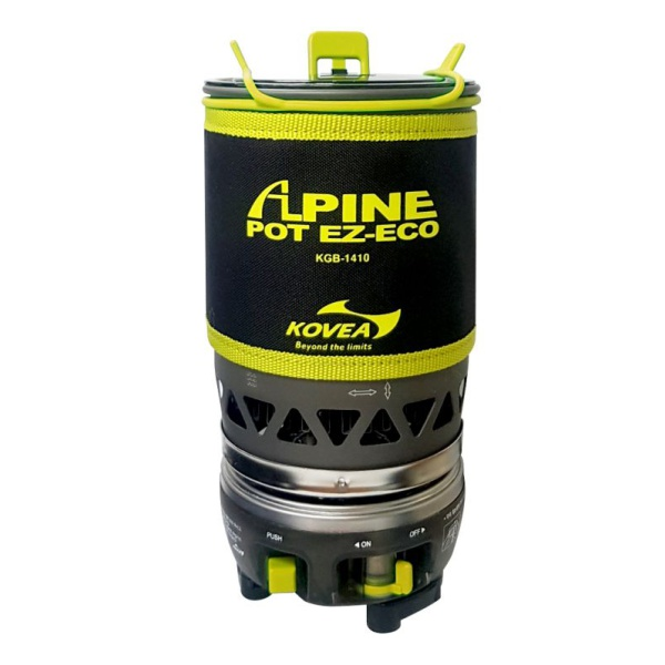 Горелка газовая Kovea Kovea Alpine Pot Ez-Eco крепеж для велосипеда на стену bike attitude sw608c