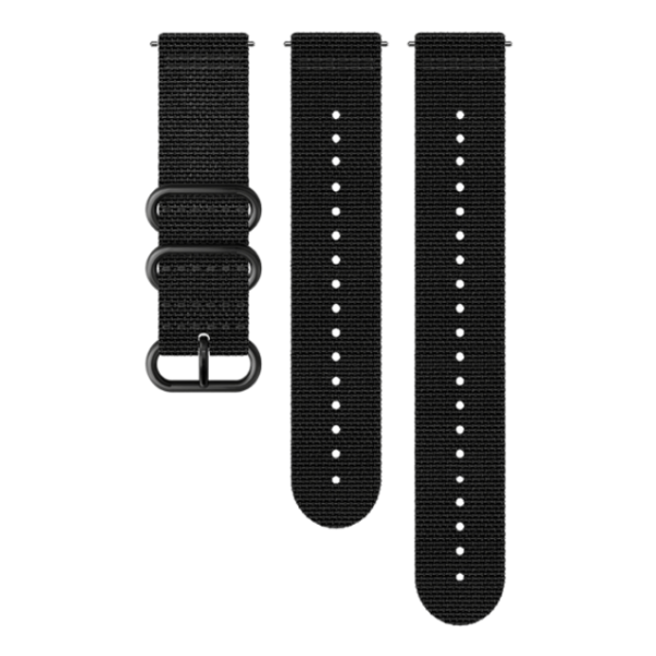 Ремешок Suunto Suunto 24 EXP2 Textile Strap черный M+L