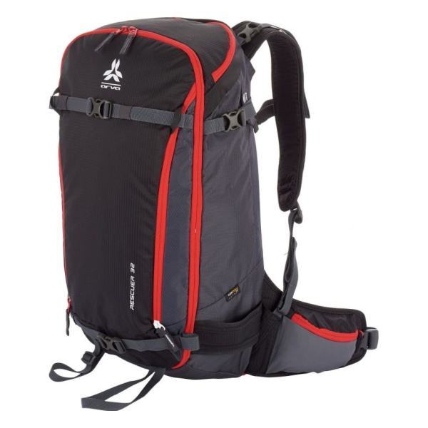 Рюкзак Arva Arva Backpack Rescuer 32 черный 32л double zipper canvas backpack