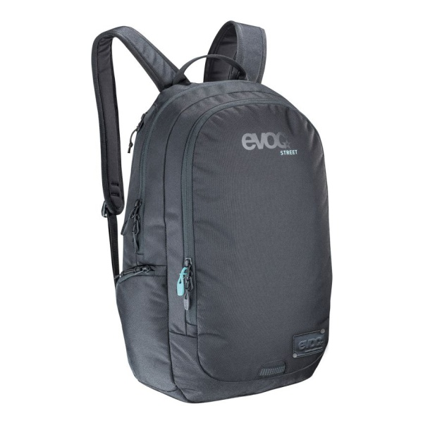 Рюкзак EVOC Evoc Street 25L черный 25л кошелек для документов evoc evoc travel case разноцветный one 24x14x1 5cm