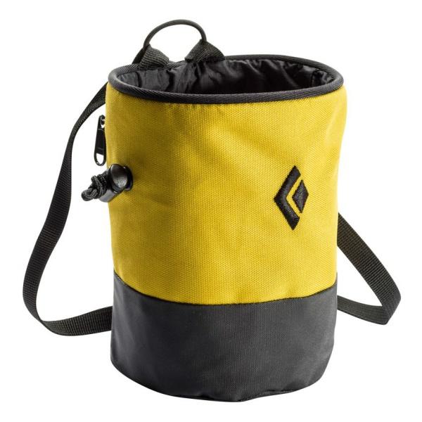 Мешочек для магнезии Black Diamond Black Diamond Mojo Zip желтый M/L