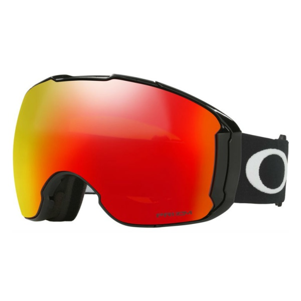 Горнолыжная маска Oakley Oakley Airbrake XL черный oakley airbrake mx herlings signature series goggles orange frame fire iridium lens