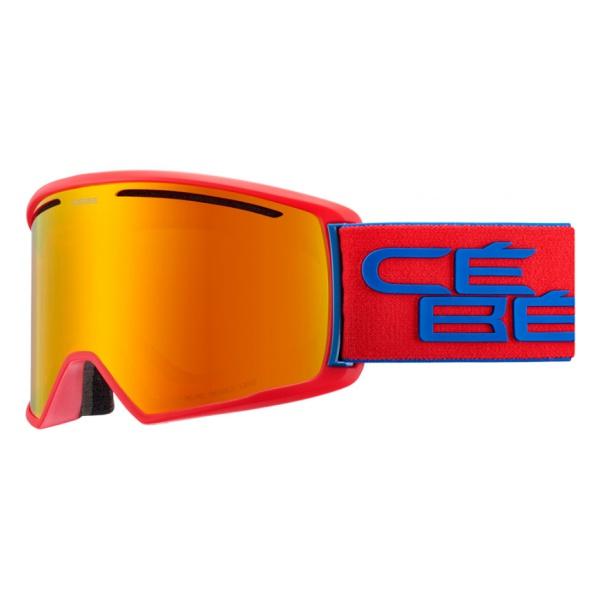 Фото - Горнолыжная маска Cebe Cebe Core L красный L линза