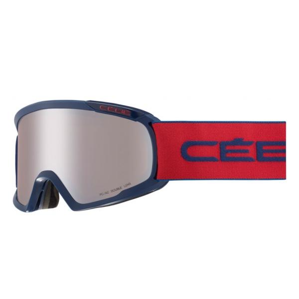 лучшая цена Горнолыжная маска Cebe Cebe Fanatic L темно-синий L