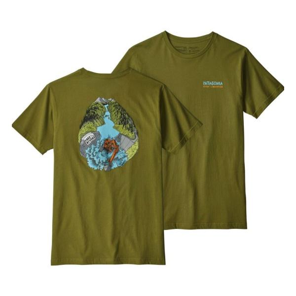 Футболка Patagonia Patagonia River Liberation Organic T-Shirt бандана patagonia patagonia lined knit headband оранжевый