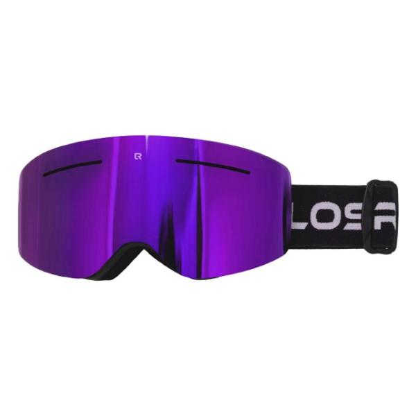 Горнолыжная маска Losraketos Atom фиолетовый