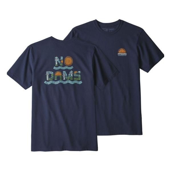 Футболка Patagonia Patagonia No Dams Responsibili-Tee футболка patagonia patagonia l s pastel p 6 logo responsibili tee женская