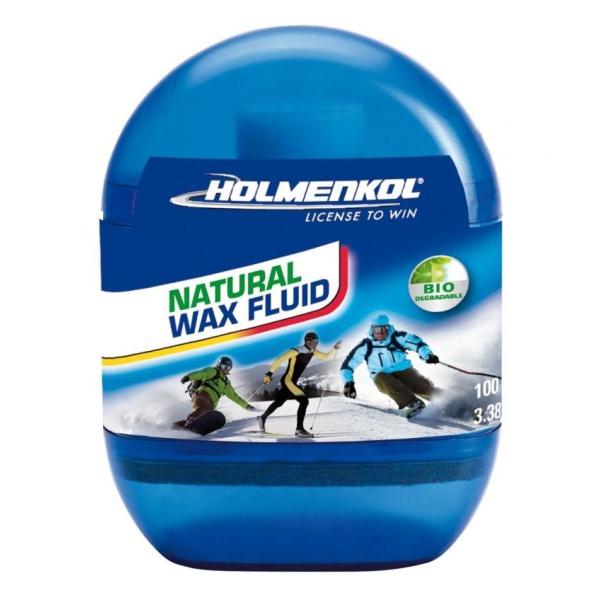 Мазь – спрей лыжная универсальная HOLMENKOL Holmenkol Natural Wax Fluid цена 2017