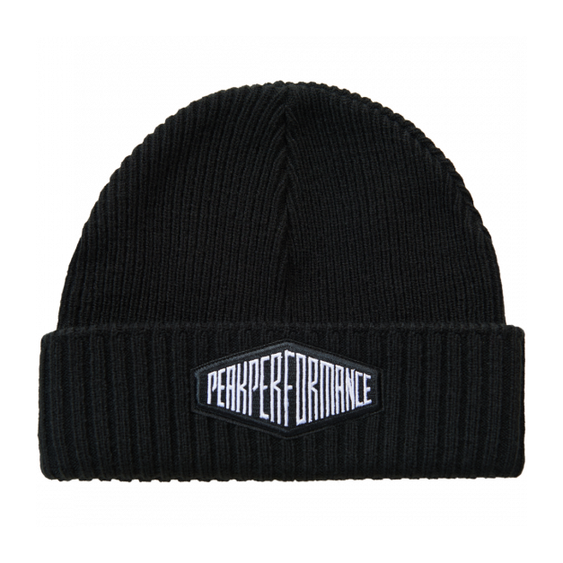 Шапка Peak Performance Peak Performance Volcan Hat черный ONE шапка peak performance peak performance pow темно розовый one