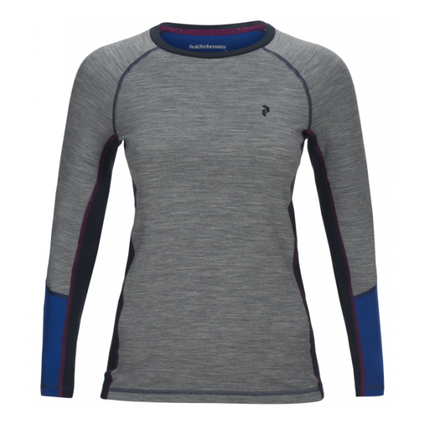 Футболка Peak Performance Peak Performance Magic Base Layer Long-Sleeve Top женская cut out sleeve plain top