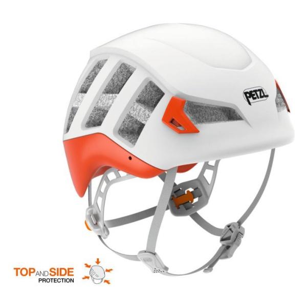Каска Petzl Petzl Meteor красный S/M крепёж на каску petzl helmet mount adapt