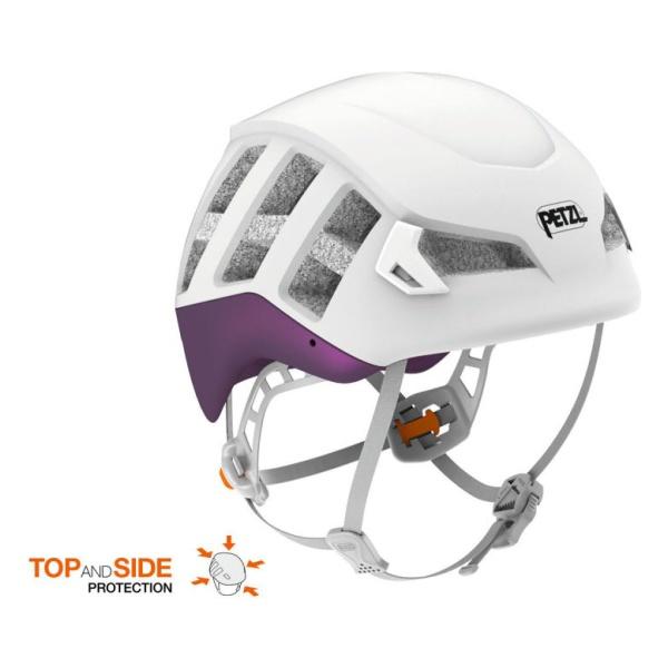 Каска Petzl Petzl Meteor темно-красный M/L крепёж на каску petzl helmet mount adapt