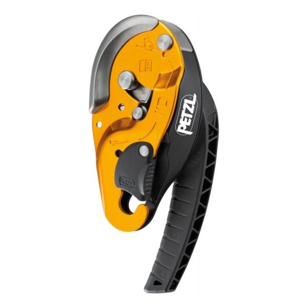 Устройство самоблокирующееся спусковое для высотных работ Petzl Petzl I'D S желтый страховочное устройство petzl petzl asap lock