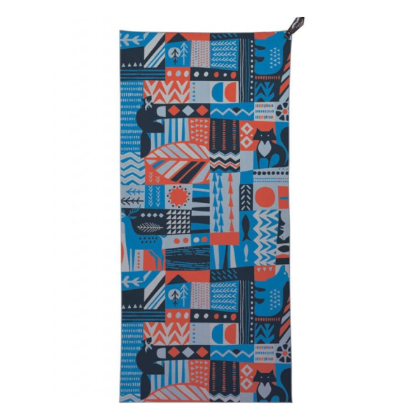 Полотенце походное PackTowl PackTowl Personal темно-голубой BEACH(91х150см)