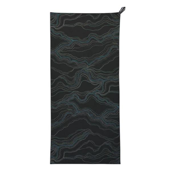 Полотенце PackTowl походное PackTowl Personal темно-серый BEACH(91Х150СМ)