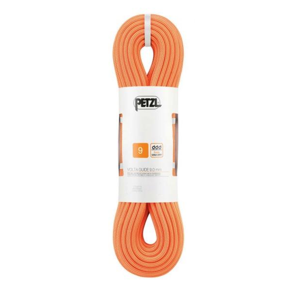Веревка динамическая Petzl Petzl Volta Guide (бухта 40 м) оранжевый 40M веревка динамическая petzl petzl volta guide 9 мм бухта 30 м оранжевый 30m