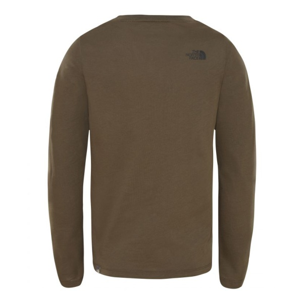 Купить Футболка The North Face Easy L/S Tee детская