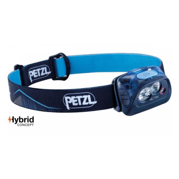 Фонарь с Petzl батарейками Petzl Actik синий